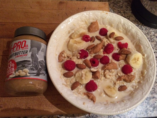 High Protein Peanut Butter and Fruit Muesli - Hi-Pro